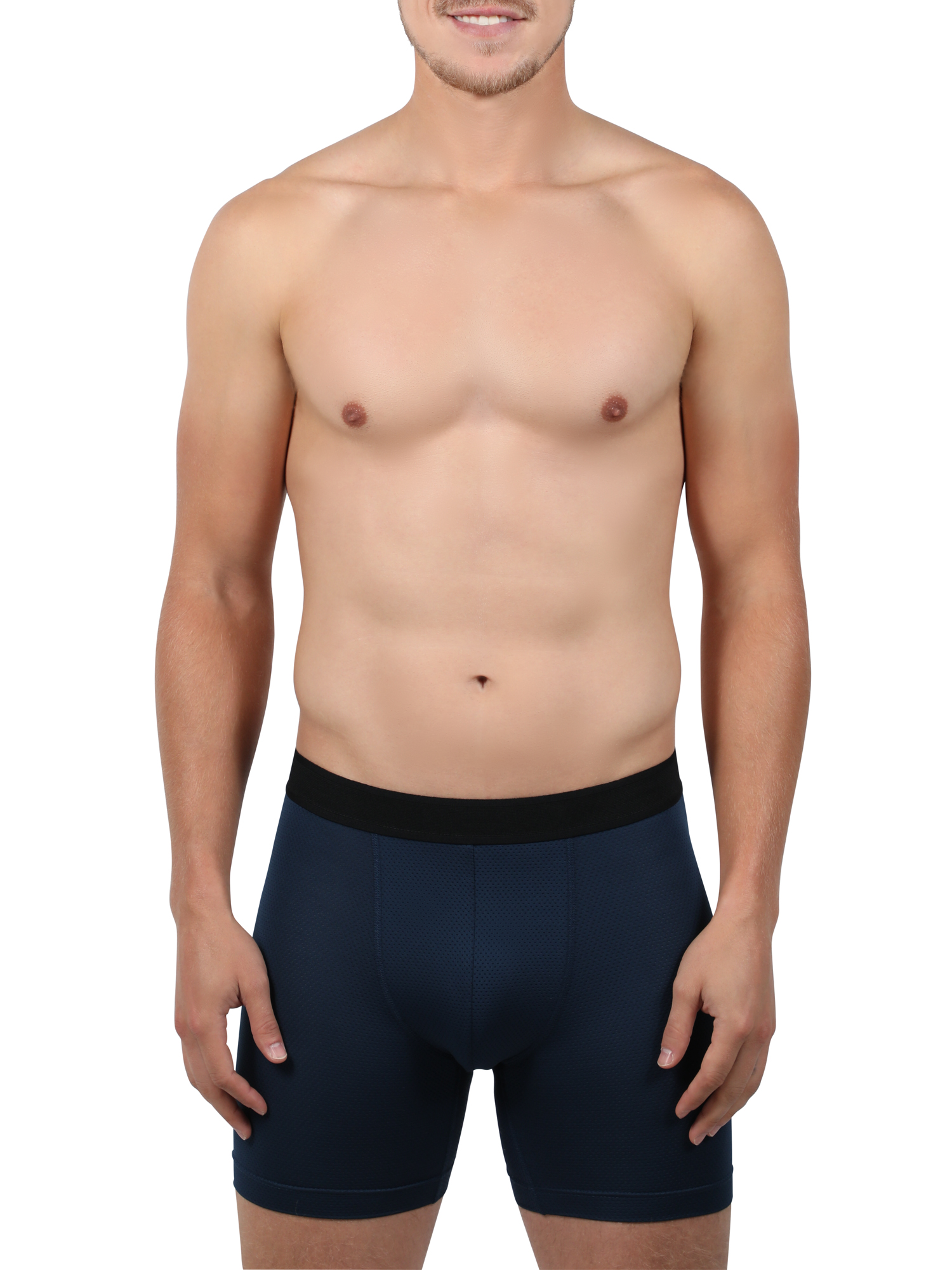 Web--ster Leopard Wild Jungle Men s Underwear Boxer Briefs Comfortable Slip Size L