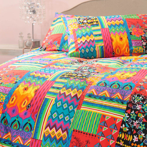 Margaret Muir Juanita 3 Piece Queen Duvet Set