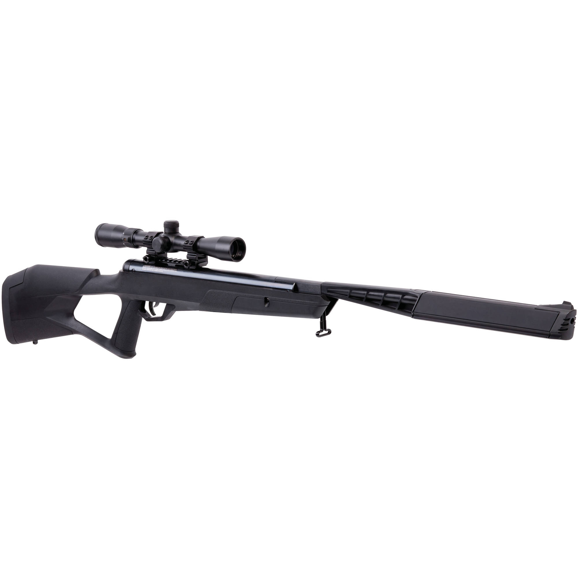 Benjamin Trail SBD Stealth All-Weather .177 Caliber NP2 Break Barrel Air Rifle with Scope, 1400fps by Crosman
