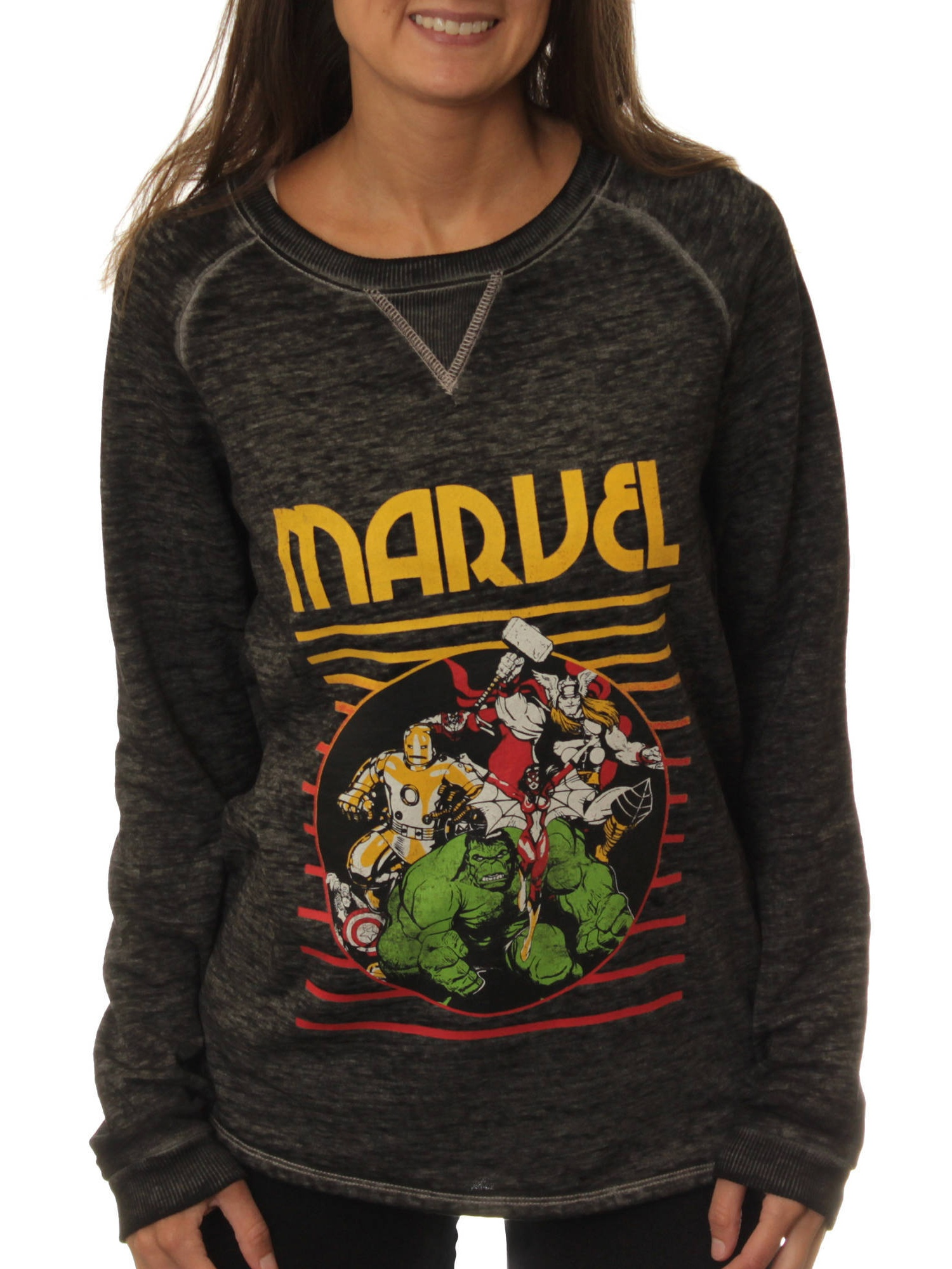 Marvel Juniors' Raglan Sweatshirt