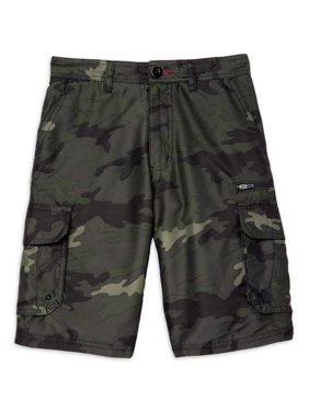 Burnside Boys Microfiber Cargo Shorts, Sizes 4-20