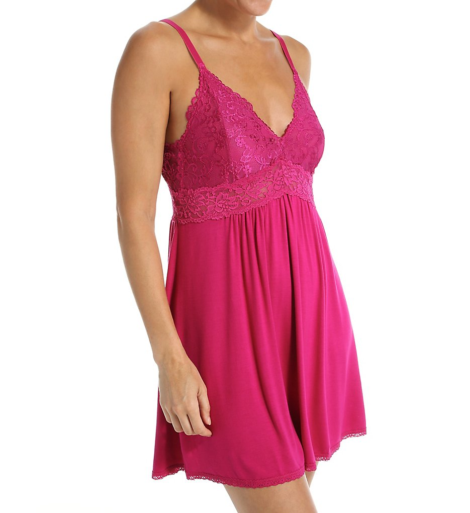 Mystique Intimates 21904 Bliss Knit Chemise Short Gown
