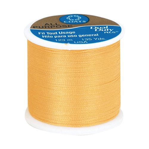 Coats & Clark All Purpose Thread, 135 yds, Goldenrod