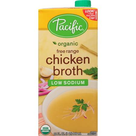 Organic Stock ((2 Pack) Pacific Foods Organic Low Sodium Chicken Broth,)