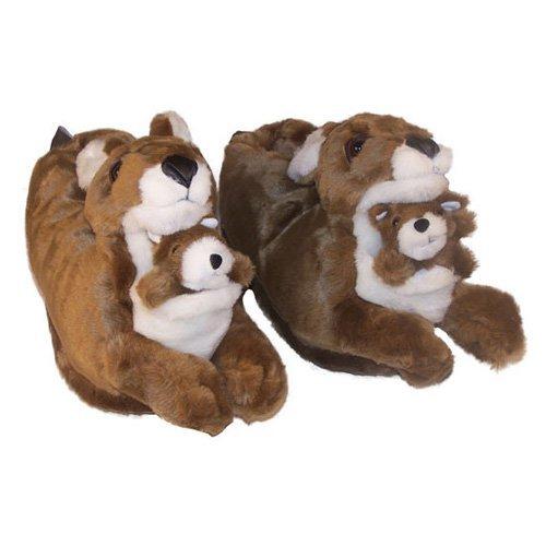 Comfy Feet Kangaroo Animal Feet Slippers