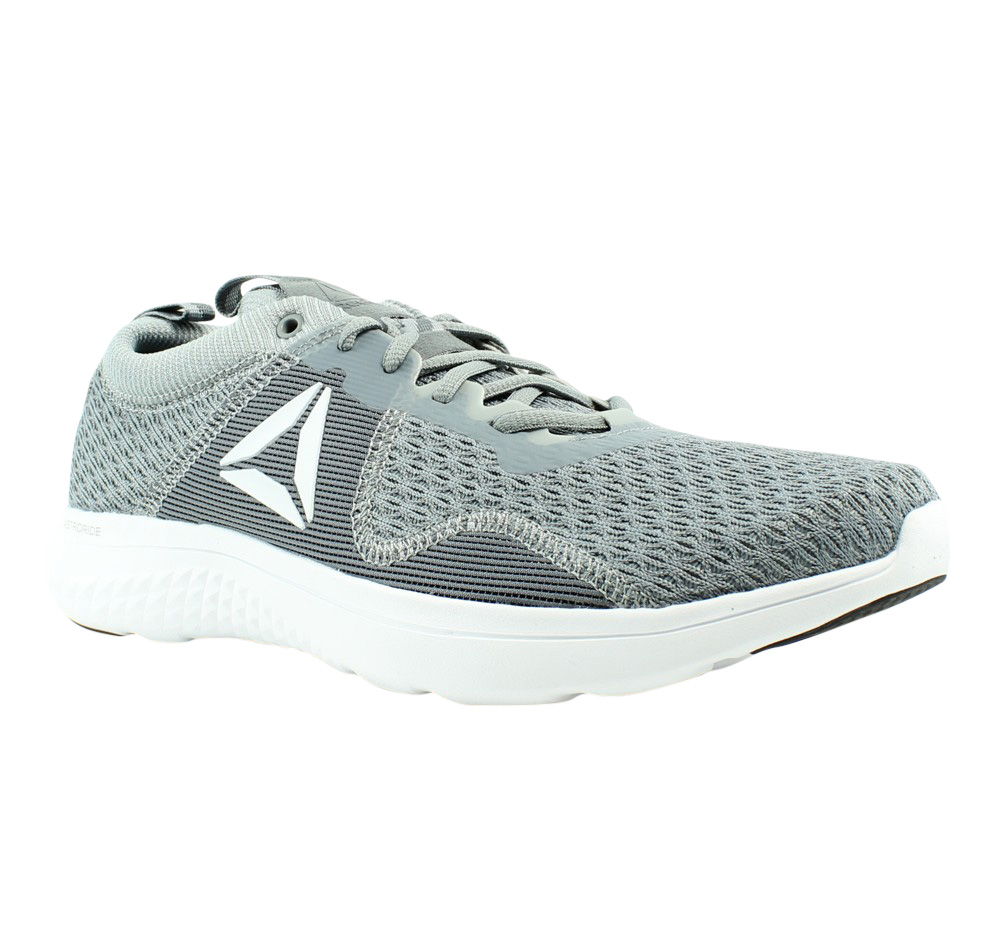 Reebok Astroride Run Fire MTM Gray Running, Cross Training Mens Athletic Shoes Size 9.5 New by Reebok