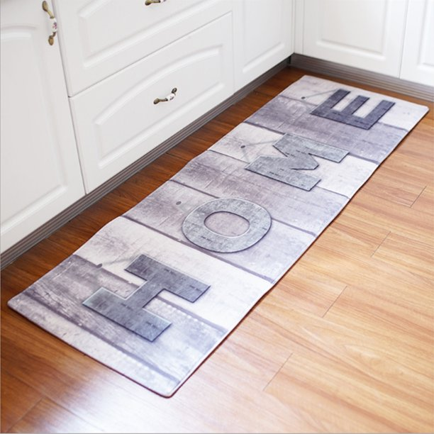 Modern Floor Mat Non Slip Kitchen Rug Large Hallway Carpet Long Doormat Walmart Com Walmart Com