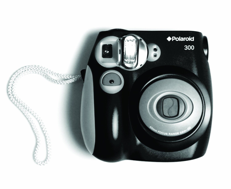 Polaroid PIC-300 Instant Film Camera (Black) - Walmart.com