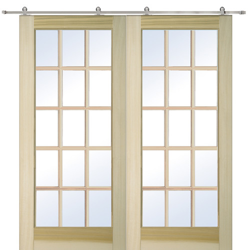 Verona Home Design Wood Interior Barn Door
