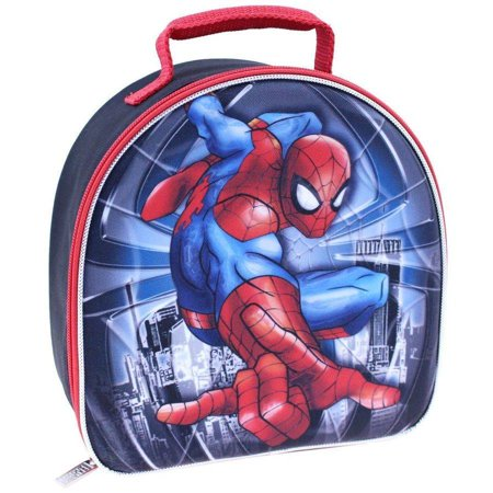 Marvel Spiderman Dome Lunch Kit](Spiderman Lunch Box)