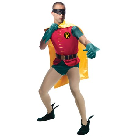 Robin Comic Grand Heritage Adult Halloween Costume (Halloween Comicfest Comics)
