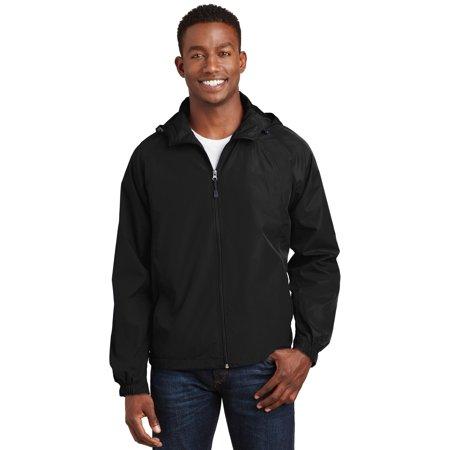 Sport-Tek® Hooded Raglan Jacket. Jst73 Black L - image 1 de 4