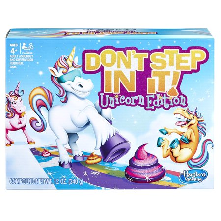 Spot It Games (Hasbro Don't Step In It Game Unicorn)