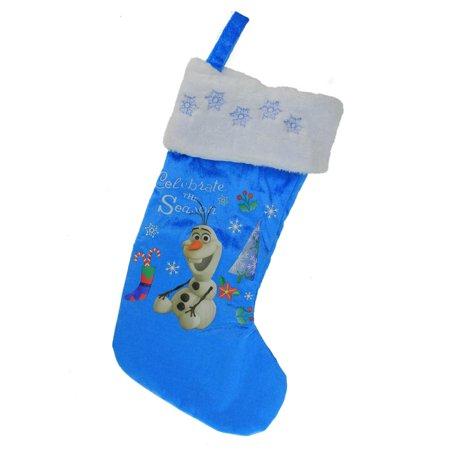 185 disney frozen olaf the snowman celebrate the season blue white christmas