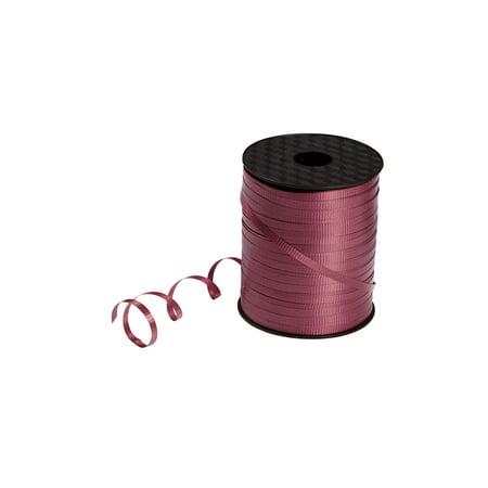 Burgundy Curling Ribbon - 3/16