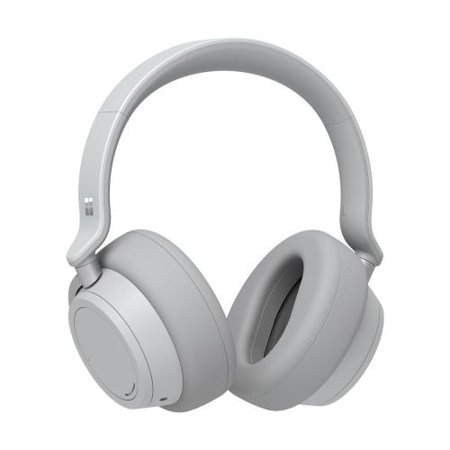 Microsoft Surface Headphones Light Gray  -  Wireless/ Wired - Bluetooth 4.2 - Cortona Assistant - On-ear touch controls - 15hr battery -
