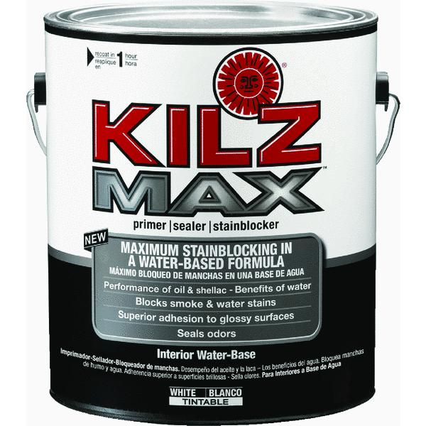 KILZ Restoration Interior Water-Based Primer, Sealer & Stainblocker, White - New Name, Same Trusted Formula