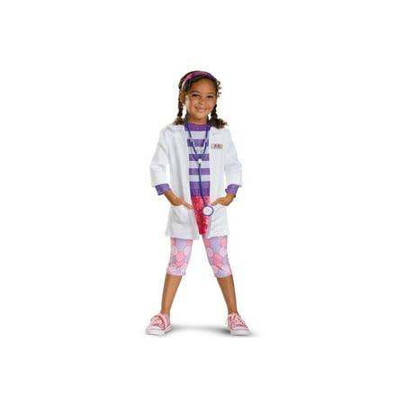 Doc Mcstuffins Disney Toddler/ Girls Costume deluxe