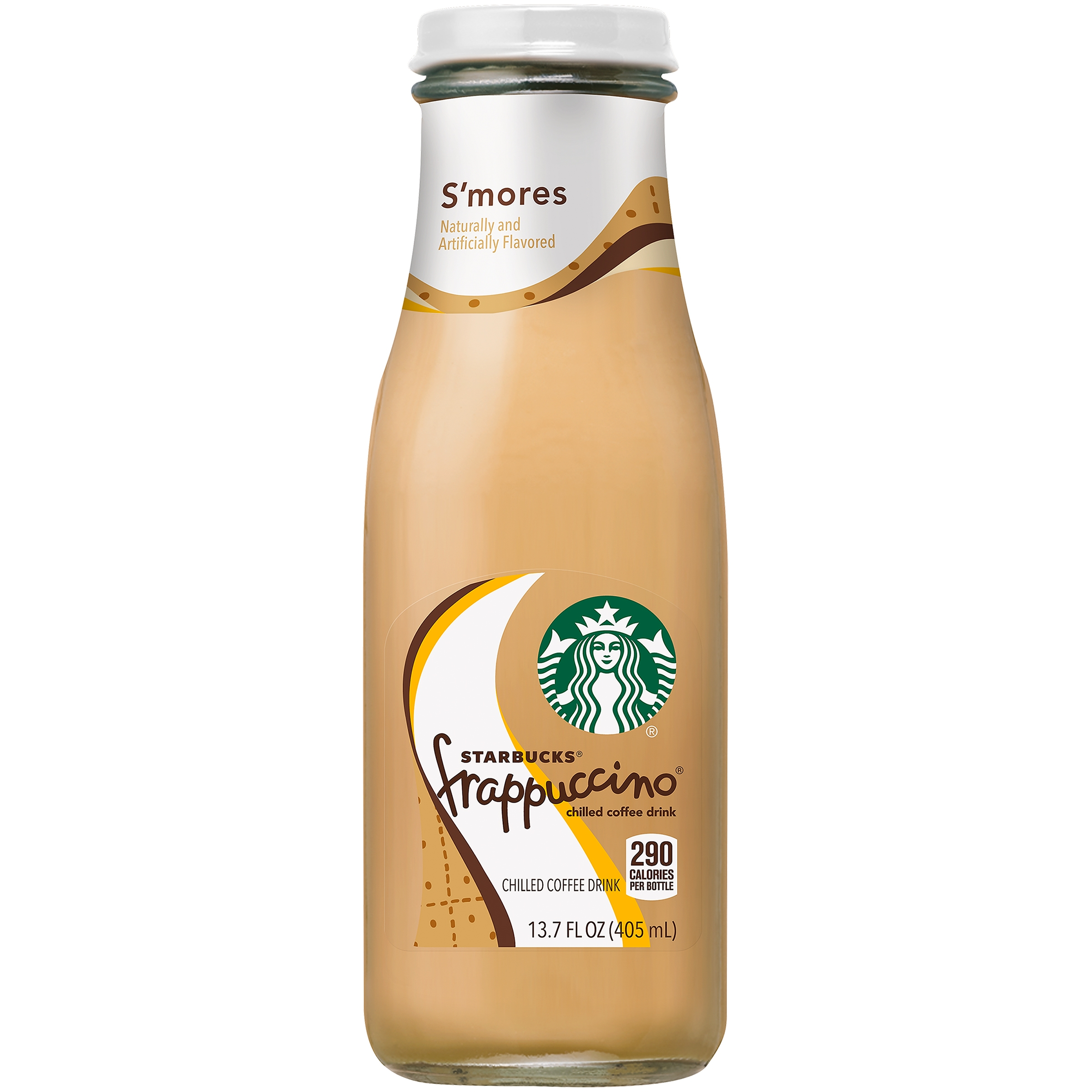 Starbucks Frappuccino S'mores Coffee Drink, 13.7 fl oz