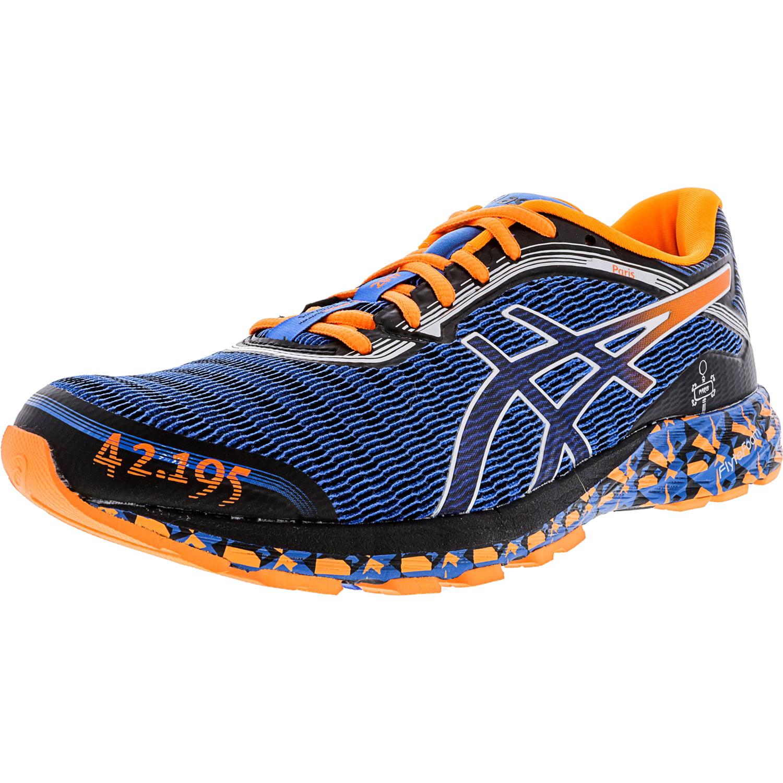 Asics Men's Dynaflyte Electric Blue / Indigo Hot Orange Ankle-High Running Shoe - 14M - image 1 of 1