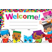Trend, TEP81071, Welcome BlockStars Recognition Awards, 30 / Pack, Multicolor
