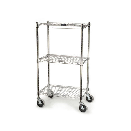 Rubbermaid Commercial Products ProSave 47.75'' H 3 Shelf Shelving Unit