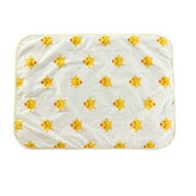 Baby 3-layer Cotton Waterproof Protector Pad Non Slip Bed Pad 30*45cm