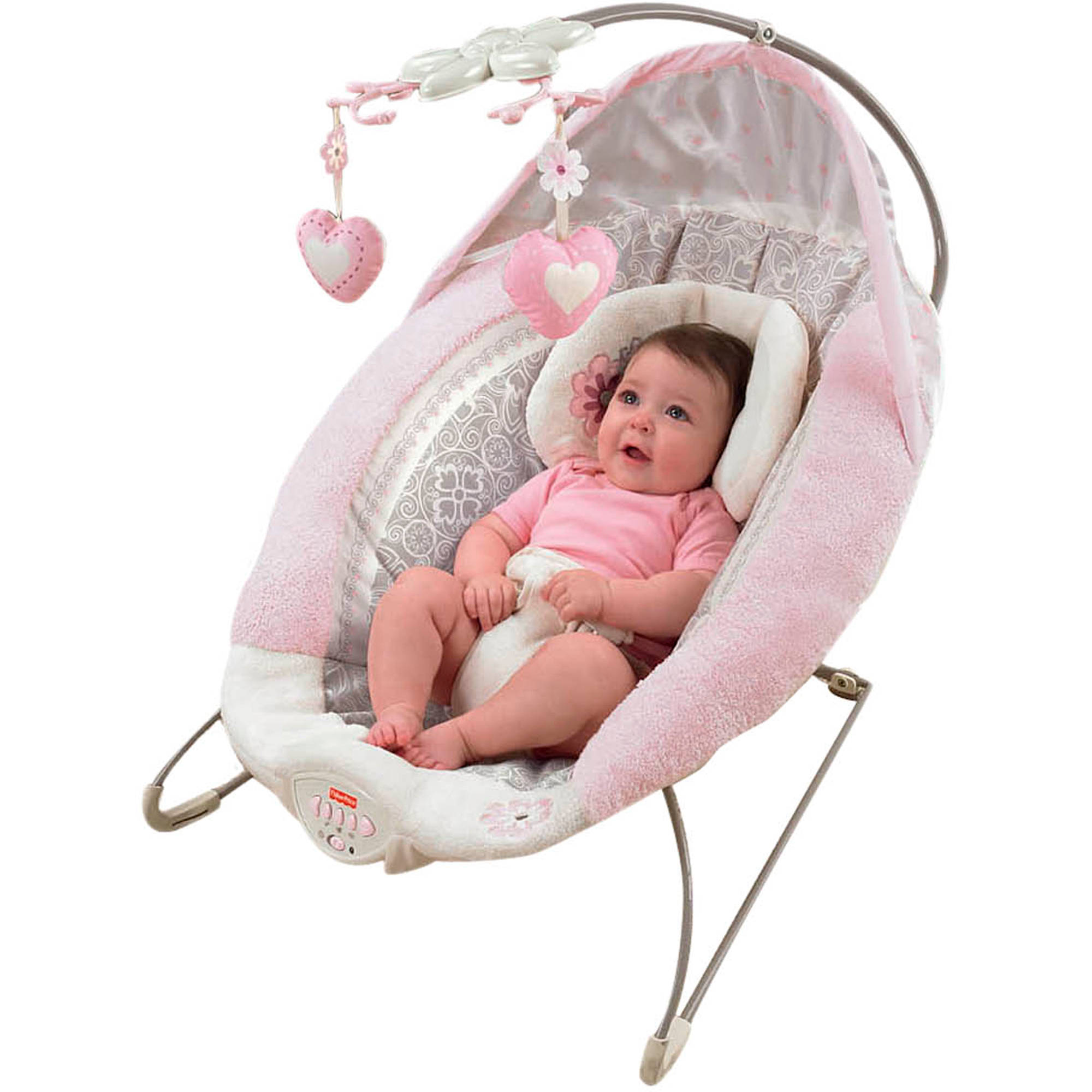 9e57adf02ec Baby Bjorn 005024US Bouncer Balance Soft Cotton - Rust Orange with Rattle  Teethe - Walmart.com
