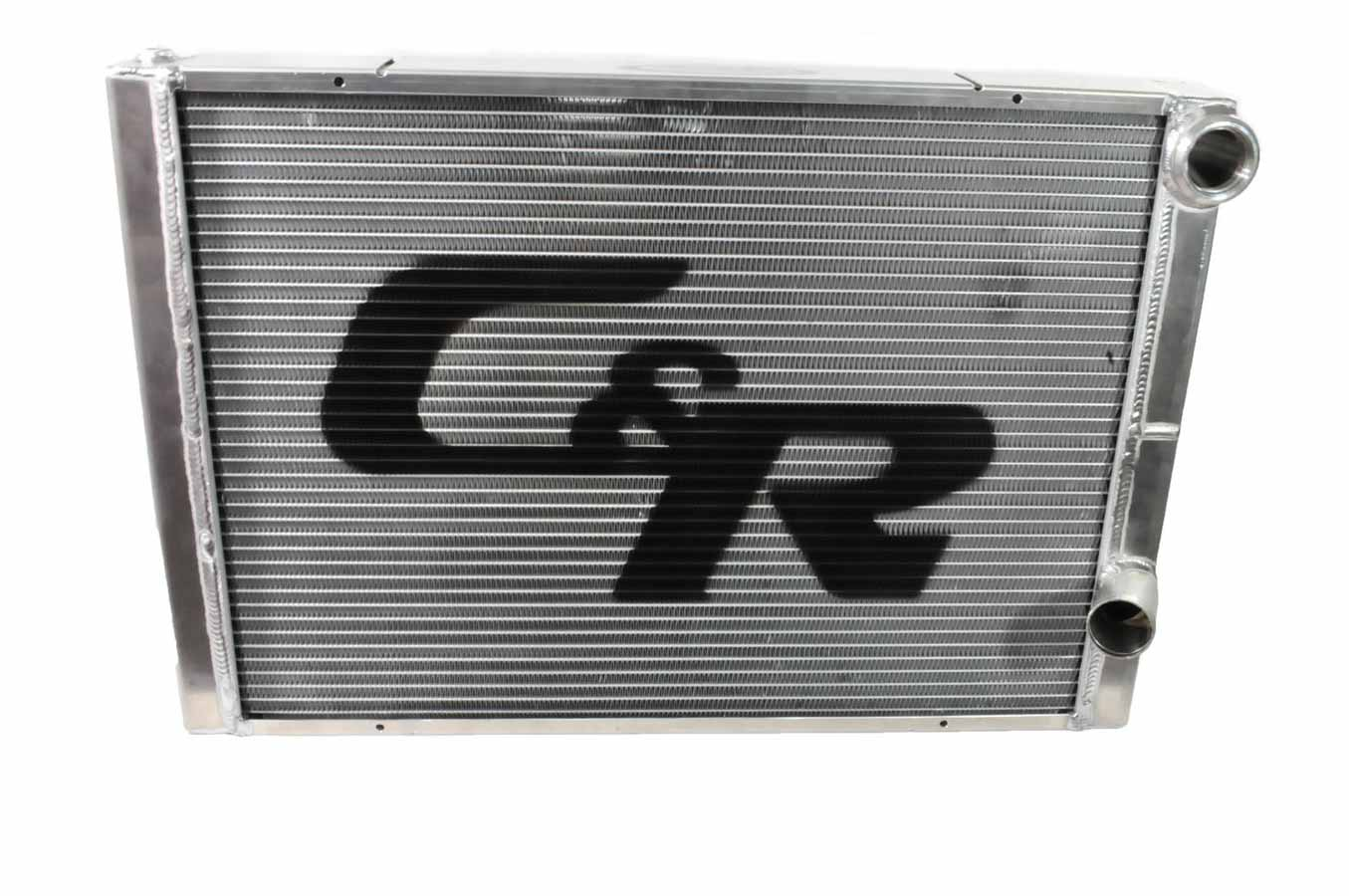 """C AND R 28"""" W x 19"""" H x 1-3 4"""" D Aluminum Dual Pass Radiator P N 804-28191 by C AND R Racing Radiators"""