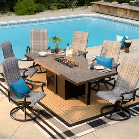 Patio Dining Fire Table