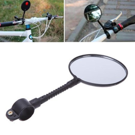 EEEKit MTB Bike Bicycle Cycling Rearview Mirror Glass Adjustable Mini Small Iron Handlebar Bar Accessories for Most Mountain Bike Road (Best Road Bike Glasses 2019)