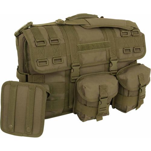 Mercury Tactical Gear Computer Messenger Bag, ACU