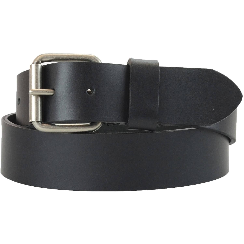 Montauk Leather Club 1-1/2 in. US Steer Hide Harness Leather Men's Belt...