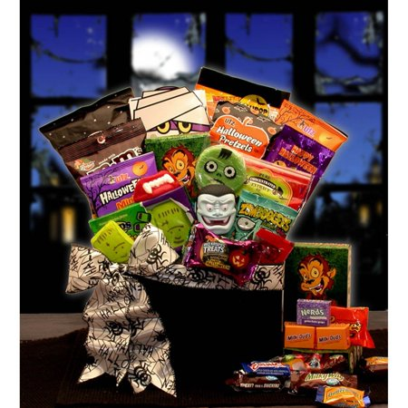 Gift Basket Ideas For Halloween (The Monster Ball Halloween Care Package Gift)