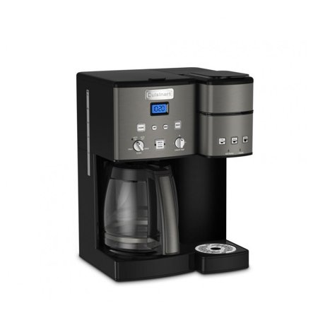 3e25f77dddf Cuisinart Coffee Center 12-Cup Coffeemaker and Single-Serve Brewer (Black)  (Certified Refurbished) - Walmart.com