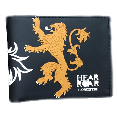 Tv series game of thrones lannister pvc mens boys wallet w for Game of thrones gifts for men
