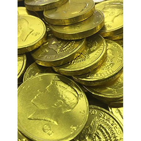 Gold Chocolate Coins - 1b - Coin Chocolate