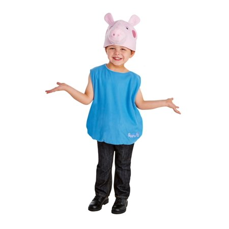 Boy's George Pig Costume - Diy Pig Costume