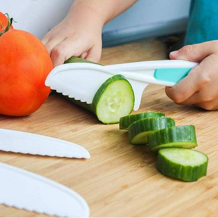 Roofei Nylon Kitchen Knife Set (3 Piece) - The Perfect Kids Knife, Lettuce Knife and Safe Kitchen Knife - image 2 of 4