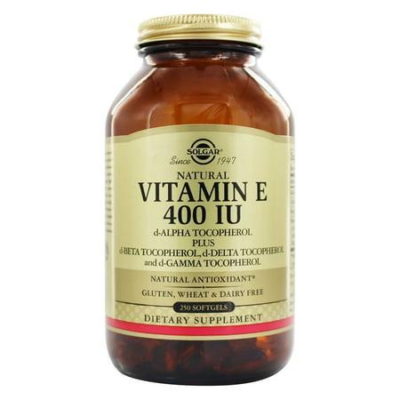 Solgar - Vitamine E d-Alpha