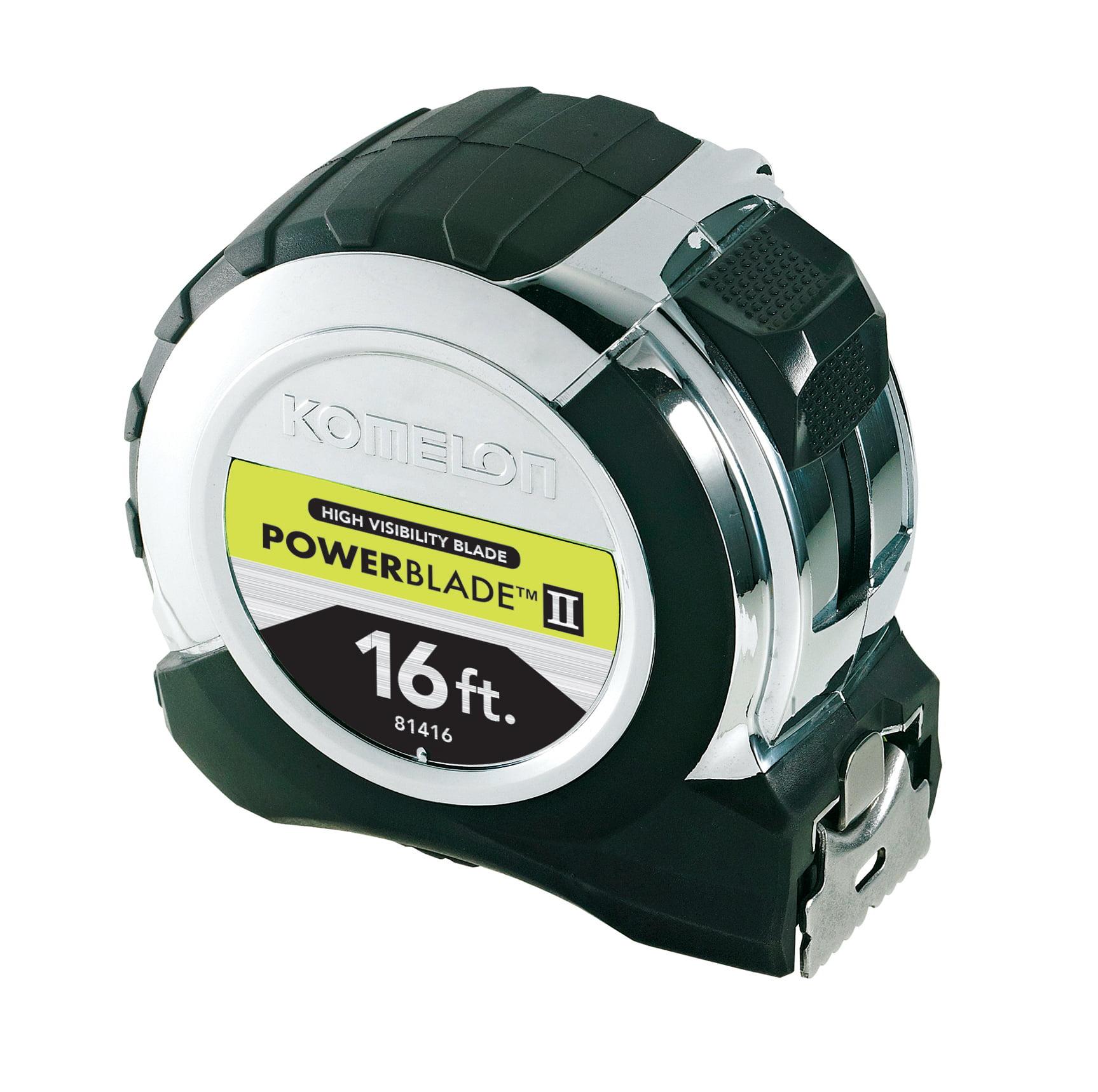 Komelon 16ft Chrome Powerblade II Tape Measure