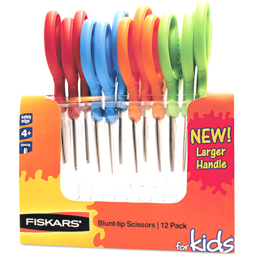 Fiskars Children's Safety Scissors, 12 per pack