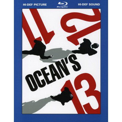 Ocean's Giftset - Ocean's Eleven / Twelve / Thirteen (Blu-ray) (Widescreen)