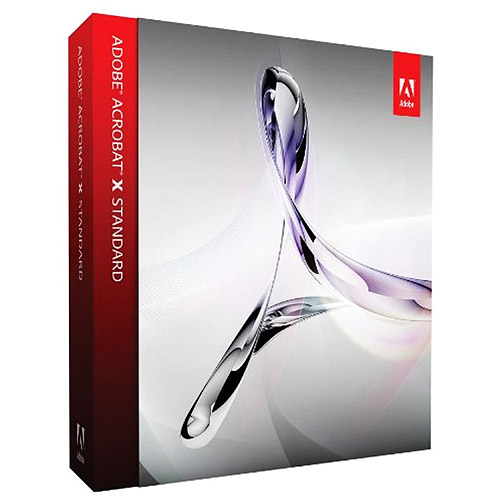 Adobe Software 65096933 Acrobat X Upgrade Std-Std