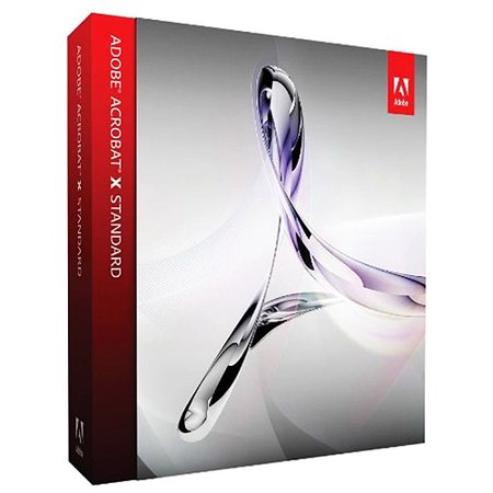 Adobe Software 65096933 Acrobat X Upgrade Std Std
