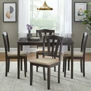 Metropolitan 5-Piece Dining Set, Multiple Colors