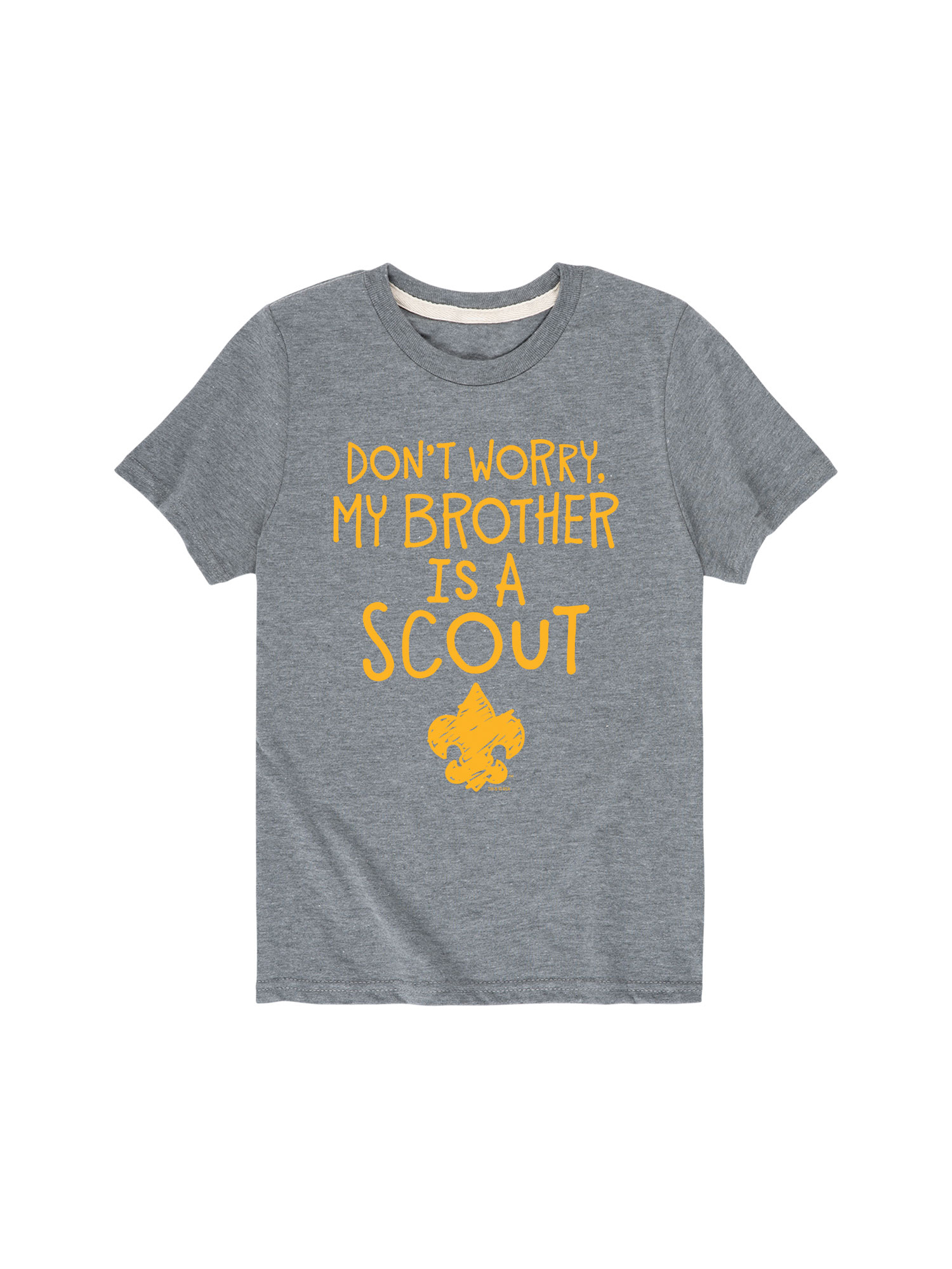Boy Scouts of America Brother Is A Scout - Toddler Short Sleeve Tee
