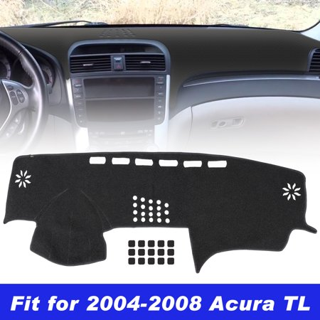 TSV Carpet Dashboard Cover for Acura TL 2004 2005 2006 2007 2008 Carpet Dash Mat, Custom Fit Dashboard Protector, Easy Installation, Reduces Glare, Eliminates Cracking