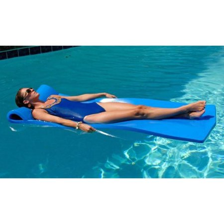 California Sun Deluxe Oversized Unsinkable Foam Cushion Pool Float - Ocean (Ocean Blue Water Products Unsinkable Pool Float)