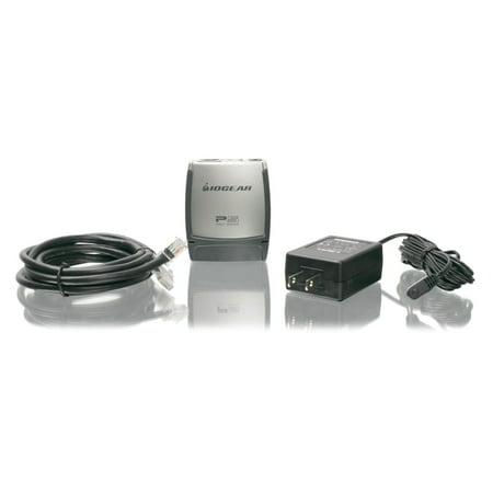 IOGEAR GPSU21 Print Server - 1 x 10/100Base-TX Network, 1 x USB 2.0 - 100Mbps